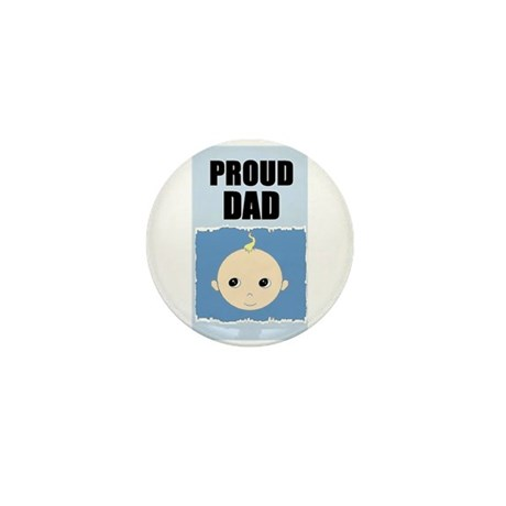 PROUD DAD Mini Button (10 pack)