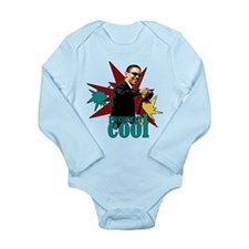 Obama - President Cool Long Sleeve Infant Bodysuit