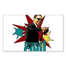 Obama - President Cool Decal