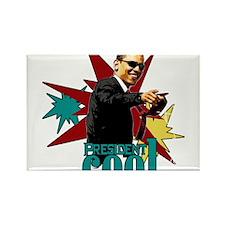 Obama - President Cool Rectangle Magnet