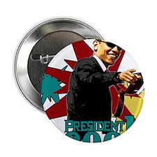 "Obama - President Cool 2.25"" Button"
