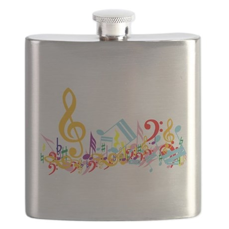 Colorful Musical Notes.png Flask