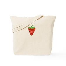 Sweet Strawberry Tote Bag