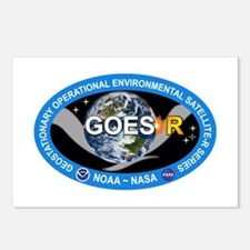 GEOS-R Logo Postcards (Package of 8)
