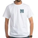 Monogram-MacLaggan White T-Shirt