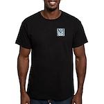 Monogram-MacLaggan Men's Fitted T-Shirt (dark)