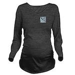 Monogram-MacLaggan Long Sleeve Maternity T-Shirt