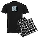 Monogram-MacLaggan Men's Dark Pajamas