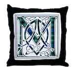 Monogram-MacLaggan Throw Pillow