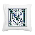 Monogram-MacLaggan Square Canvas Pillow