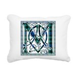 Monogram-MacLaggan Rectangular Canvas Pillow