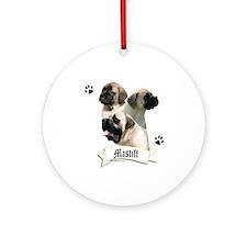 Mastiff 96 Ornament (Round)