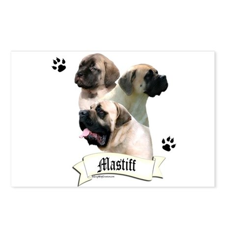 Mastiff 96 Postcards (Package of 8)