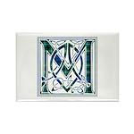 Monogram-MacLaggan Rectangle Magnet (100 pack)