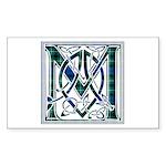 Monogram-MacLaggan Sticker (Rectangle 50 pk)