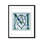 Monogram-MacLaggan Framed Panel Print