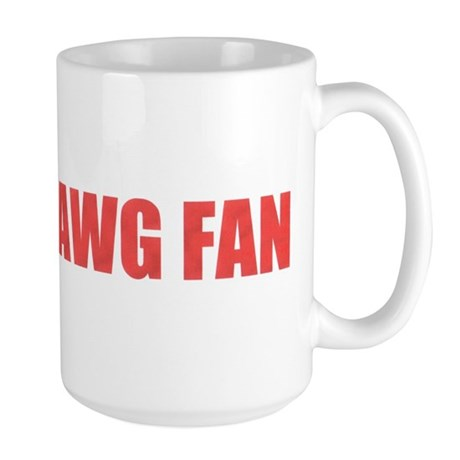 A True Dawg Fan Large Mug