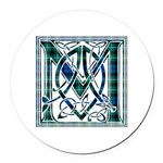 Monogram-MacLaggan Round Car Magnet