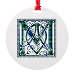 Monogram-MacLaggan Round Ornament
