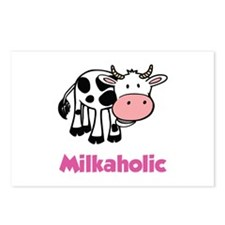 Milkaholic Postcards (Package of 8)