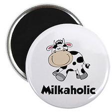 "Milkaholic 2.25"" Magnet (10 pack)"