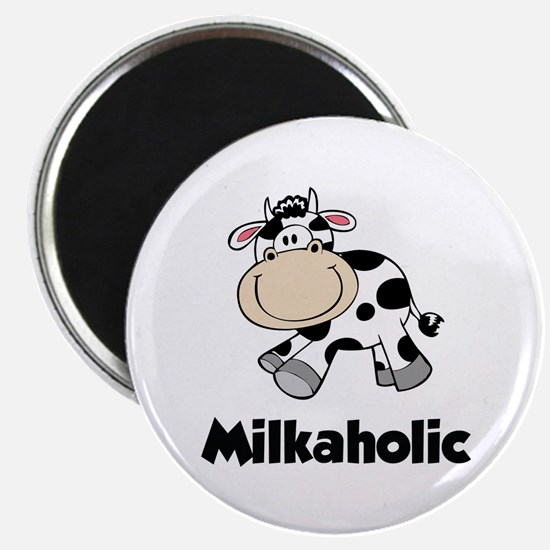 "Milkaholic 2.25"" Magnet (100 pack)"