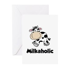 Milkaholic Greeting Cards (Pk of 10)