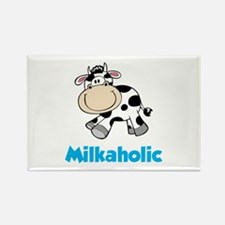 Milkaholic Rectangle Magnet