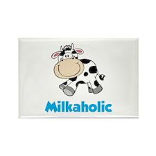 Milkaholic Rectangle Magnet (10 pack)
