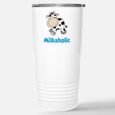Milkaholic Stainless Steel Travel Mug