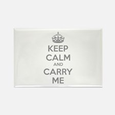 Keep calm and carry me Rectangle Magnet (10 pack)