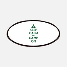 Keep calm and camp on Patches