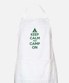 Keep calm and camp on Apron