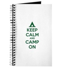Keep calm and camp on Journal