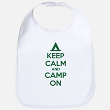 Keep calm and camp on Bib