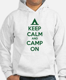 Keep calm and camp on Jumper Hoody