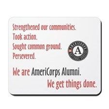 AmeriCorps Alumni Mousepad