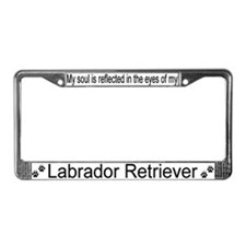 """Labrador Retriever"" License Plate Frame"