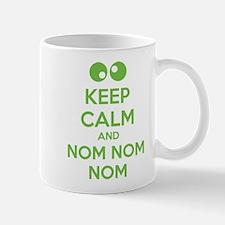 Keep calm and nom nom nom Mug
