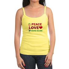 Peace Love Hang Glide Designs Jr.Spaghetti Strap