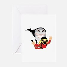 Diving Greeting Cards (Pk of 10)