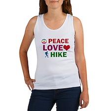Peace Love Hike Designs Women's Tank Top