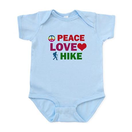 Peace Love Hike Designs Infant Bodysuit