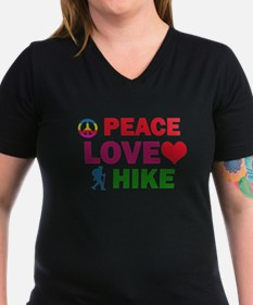 Peace Love Hike Designs Shirt