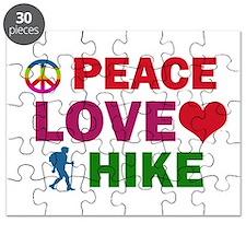 Peace Love Hike Designs Puzzle