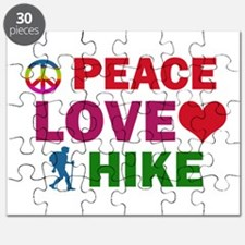 Peace Love Hike Designs Puzzle
