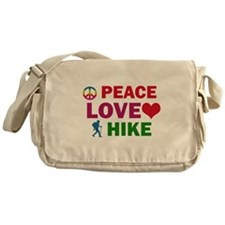 Peace Love Hike Designs Messenger Bag