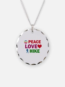 Peace Love Hike Designs Necklace