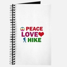 Peace Love Hike Designs Journal