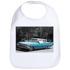 Vintage American Blue Chevrolet Car Bib